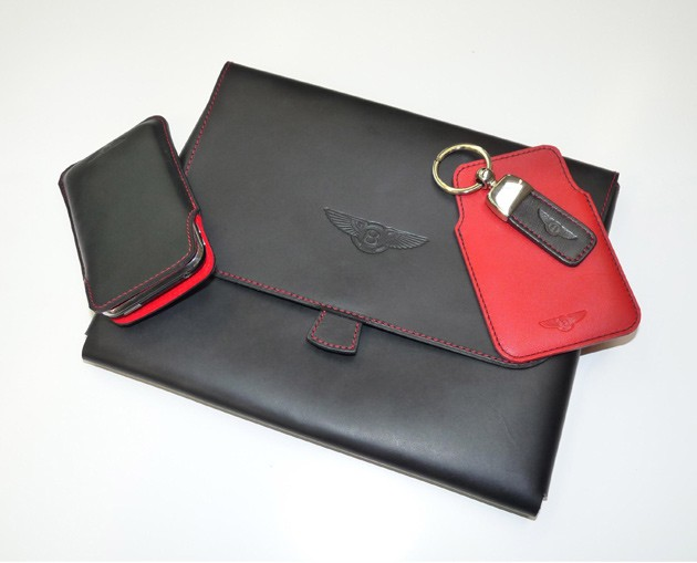 Bentley iPad case, iPhone case, luggage tag and keyring