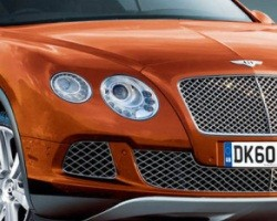 Bentley crossover rendering