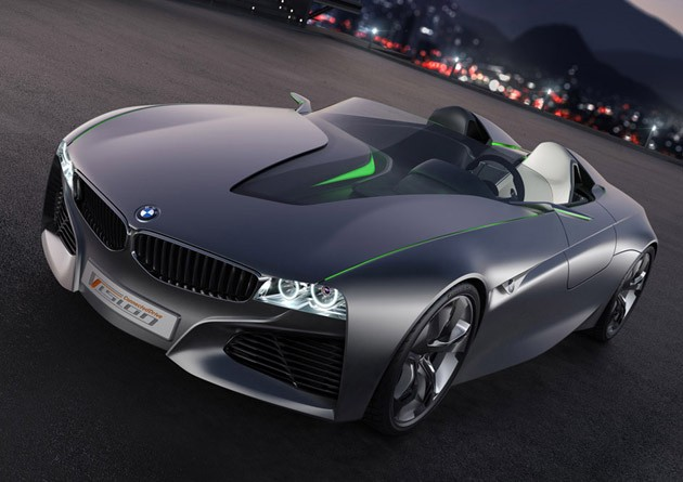 BMW Vision ConnectedDrive rendering