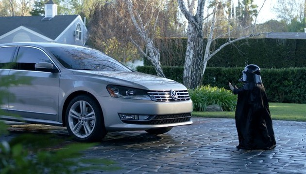 Volkswagen Passat uses The Force