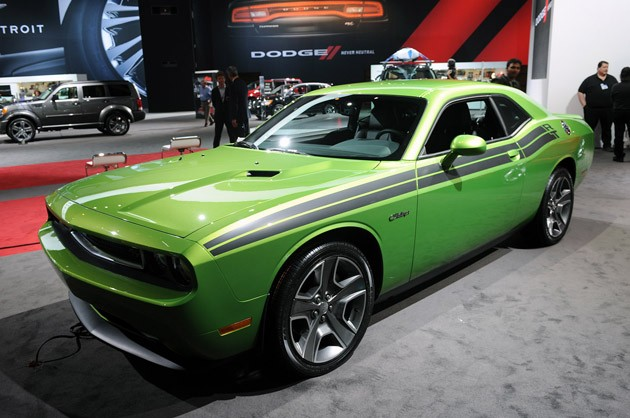 2011 Dodge Challenger RT Green with Envy