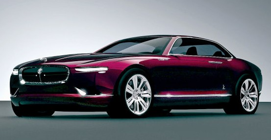 Bertone B 99 concept for Jaguar