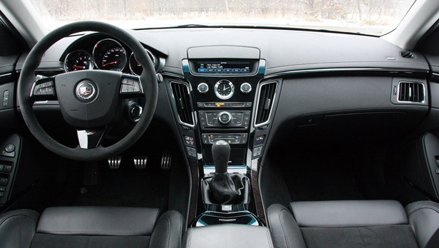 2011 Cadillac CTS-V Sport Wagon interior