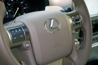 2011 Lexus GX 460 steering wheel
