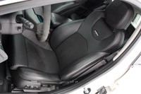 2011 Cadillac CTS-V Sport Wagon front seats