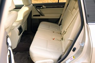 2011 Lexus GX 460 rear seats