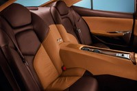 2012 Fisker Karma rear seats