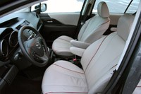 2012 Mazda5 front seats