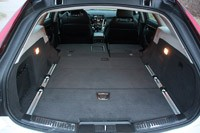 2011 Cadillac CTS-V Sport Wagon rear cargo area