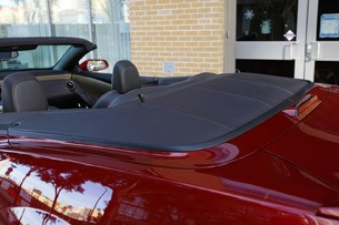 2011 Chevrolet Camaro Convertible top down