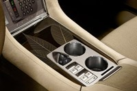 2012 Fisker Karma center console