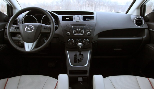 2012 Mazda5 interior
