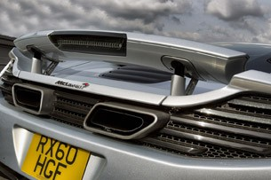 2012 McLaren MP4-12C rear detail