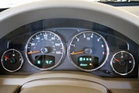 2010 Jeep Liberty Sport gauges