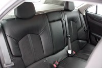 2011 Cadillac CTS-V Sport Wagon rear seats