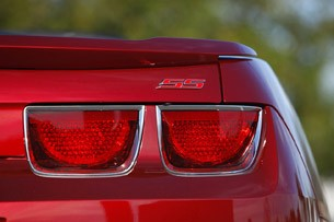 2011 Chevrolet Camaro Convertible taillights