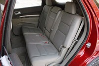 2011 Dodge Durango rear seats
