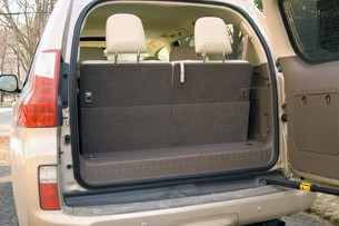 2011 Lexus GX 460 rear cargo area