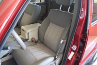 2010 Jeep Liberty Sport front seats