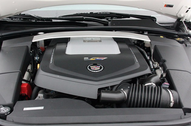 2011 Cadillac CTS-V Sport Wagon engine