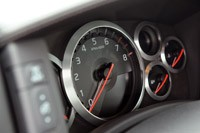 2012 Nissan GT-R gauges