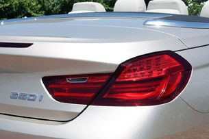 2012 BMW 6-Series Convertible taillight
