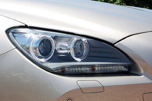 2012 BMW 6-Series Convertible headlight