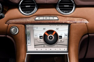 2012 Fisker Karma touch screen