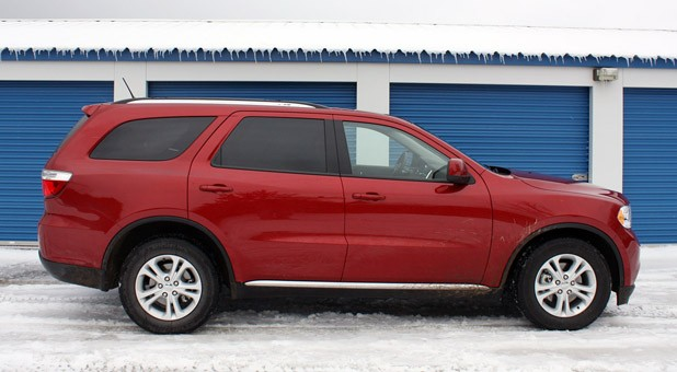 2011 Dodge Durango side view