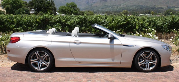 2012 BMW 6-Series Convertible side view