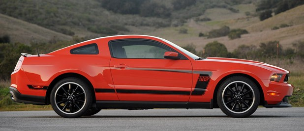 2012 Ford Mustang Boss 302 side view