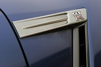 2012 Nissan GT-R badge