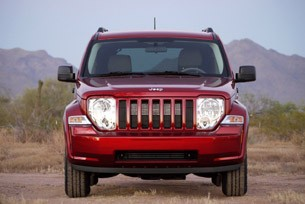 2010 Jeep Liberty Sport front view
