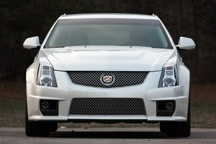 2011 Cadillac CTS-V Sport Wagon front view