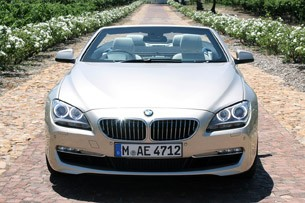 2012 BMW 6-Series Convertible front view