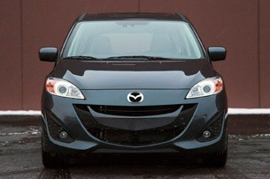 2012 Mazda5 front view