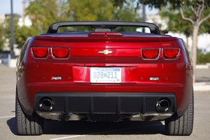 2011 Chevrolet Camaro Convertible rear view