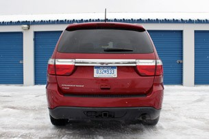 2011 Dodge Durango rear view