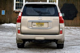 2011 Lexus GX 460 rear view