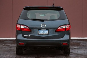 2012 Mazda5 rear view