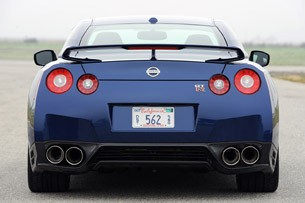 2012 Nissan GT-R rear view