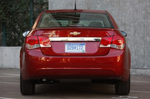 2011 Chevrolet Cruze Eco rear view