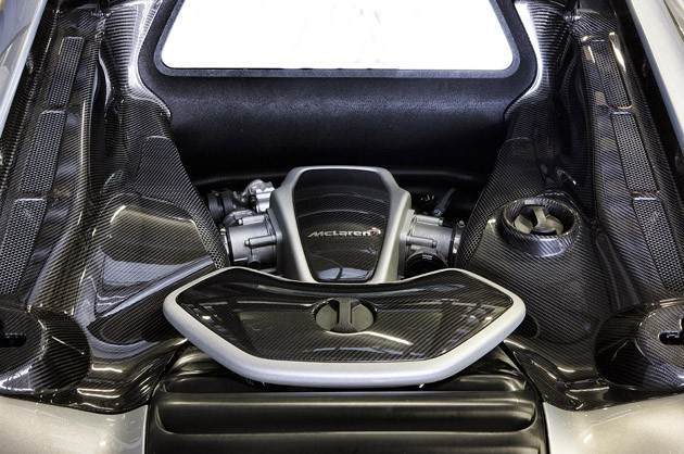 2012 McLaren MP4-12C engine