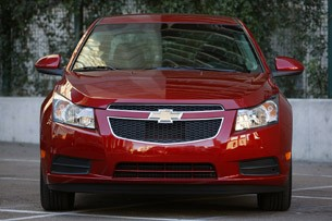 2011 Chevrolet Cruze Eco front view