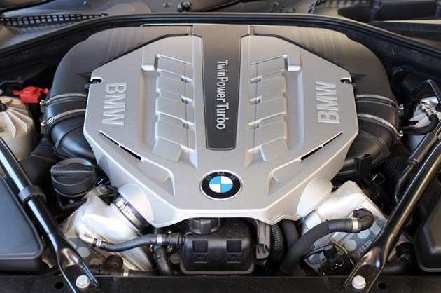 2012 BMW 6-Series Convertible engine