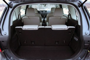 2012 Mazda5 rear cargo area