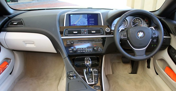 2012 BMW 6-Series Convertible interior