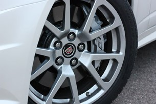 2011 Cadillac CTS-V Sport Wagon wheel