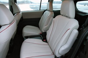 2012 Mazda5 rear seats
