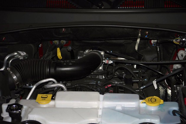 2010 Jeep Liberty Sport engine
